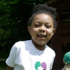 Preschool child with hearing loss